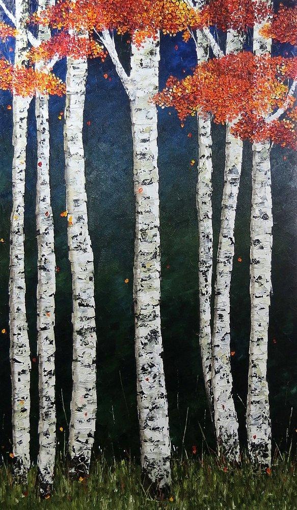 El Rincón Secreto Oleo sobre tela 70 x 120 cm