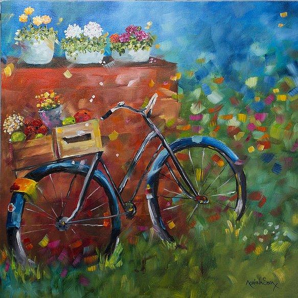 La compra Oleo sobre tela 40 x 40 cm