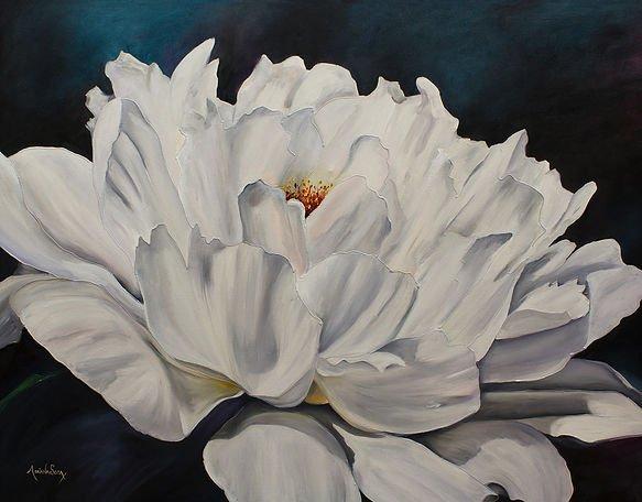 """""""Jardín en blanco"""" Todo tiene color aunque no siempre se vea a simple vista"""