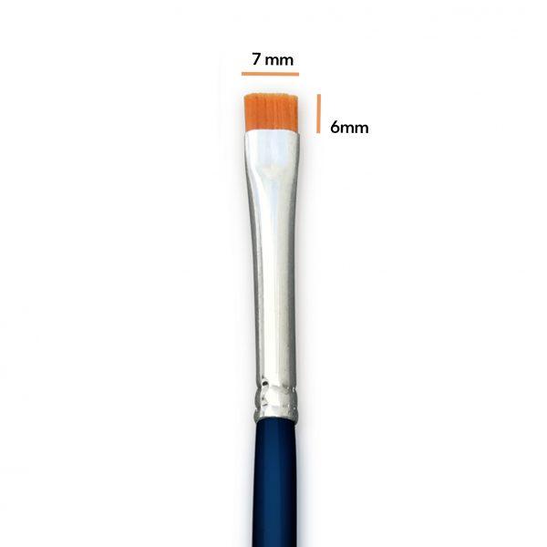 Pincel InspiraArtem Materiales recto extra corto pinceles