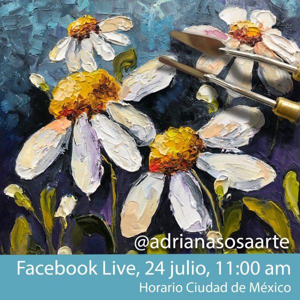 Invitación Margaritas Adriana Sosa
